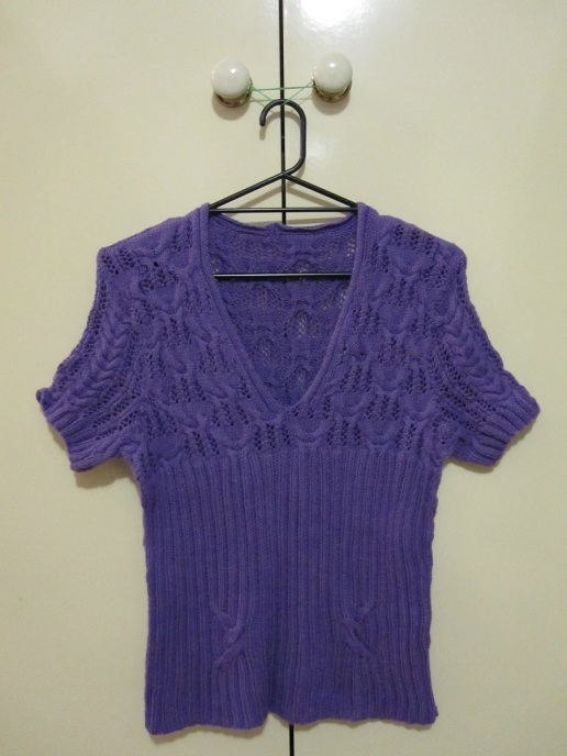 Mantova Lacy Top - Front